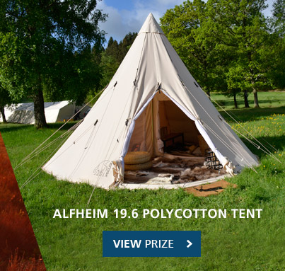 ... View prize - Nordisk Alfheim 19.6 Polycotton Tent & Cotswold Outdoor: Win one of two Nordisk tents*
